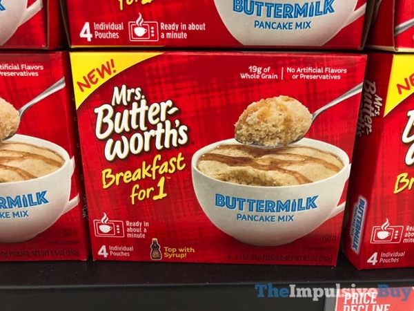 Mrs Butterworth s Breakfast for 1 Buttermilk Pancake Mix
