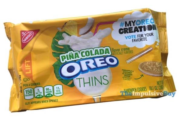 My Oreo Creation Pina Colada Oreo Cookies