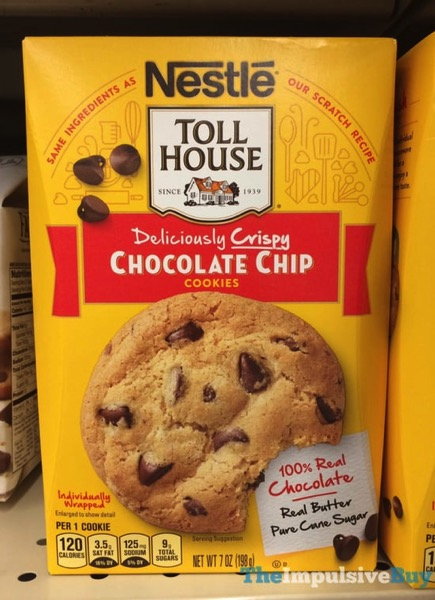 Nestle Toll House Deliciously Crispy Chocolate Chip Cookies