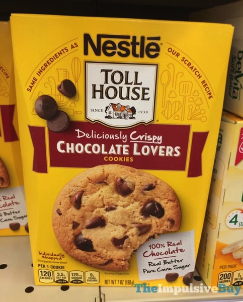 Nestle Toll House Deliciously Crispy Chocolate Lovers Cookies