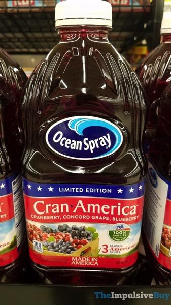 Ocean Spray Limited Edition Cran America