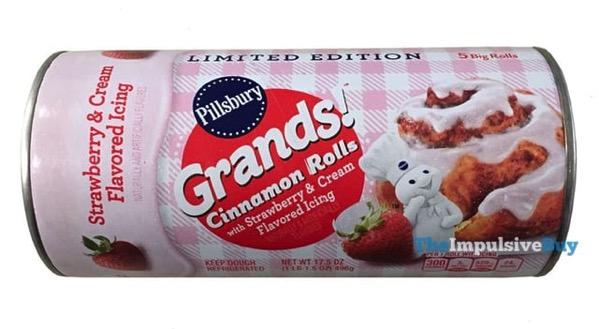 Pillsbury Grands Cinnamon Rolls Strawberry Cream