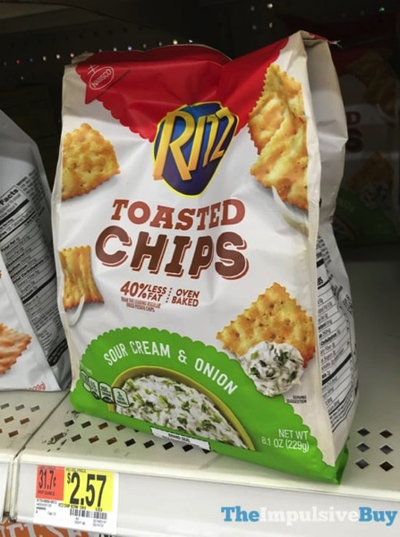 Ritz Sour Cream  Onion Toasted Chips