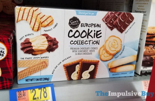 Sam s Choice European Cookie Collection