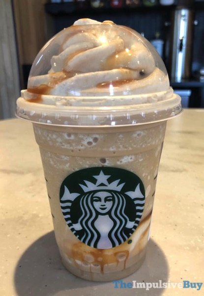 Quick Review Starbucks Ultra Caramel Frappuccino The