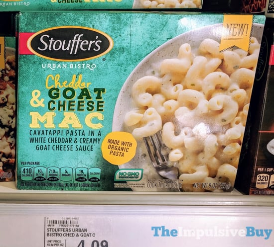 Stouffer s Urban Bistro Cheddar  Goat Cheese Mac