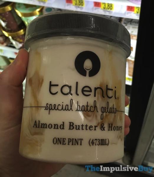 Talenti Almond Butter  Honey Special Batch Gelato
