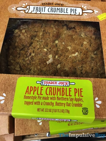 Trader Joe s Apple Crumble Pie