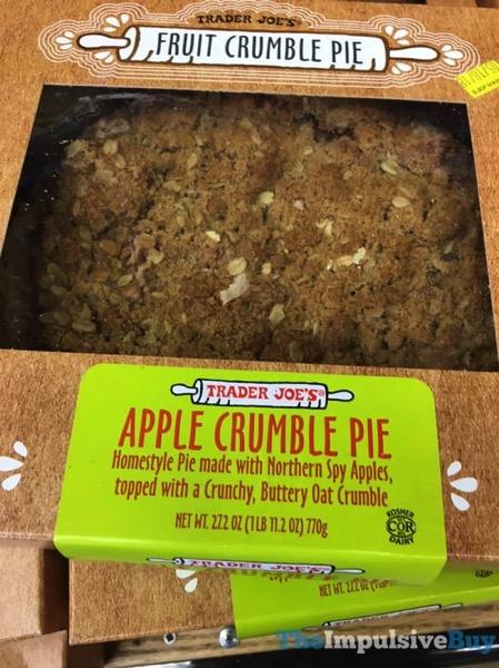 Trader Joe s Apple Crumble Pie