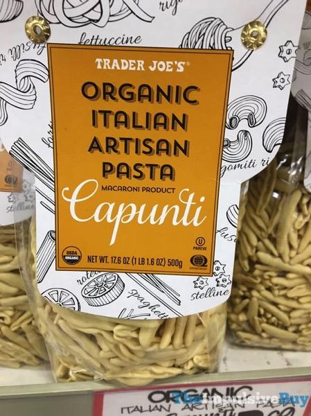 Trader Joe s Organic Italian Artisan Pasta Capunti