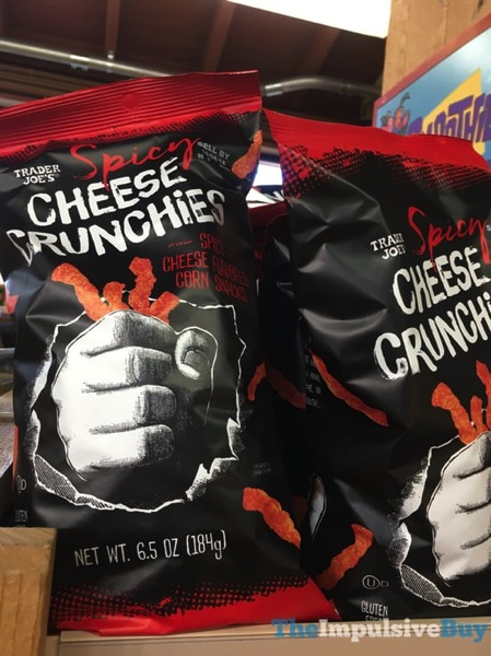 Trader Joe s Spicy Cheese Crunchies