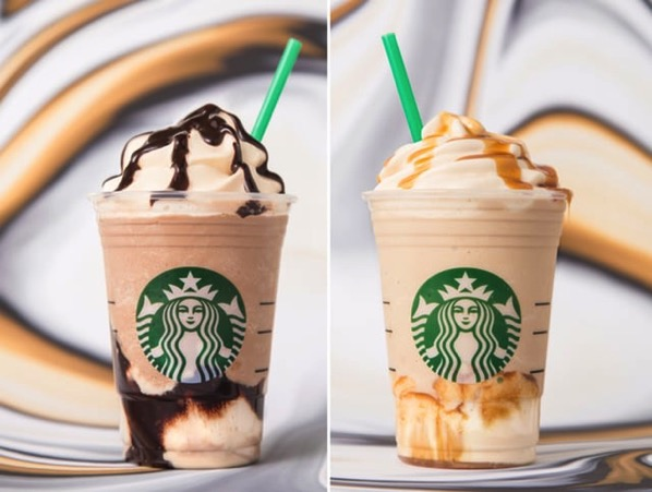 Triple Mocha Ultra Caramel Frappuccino