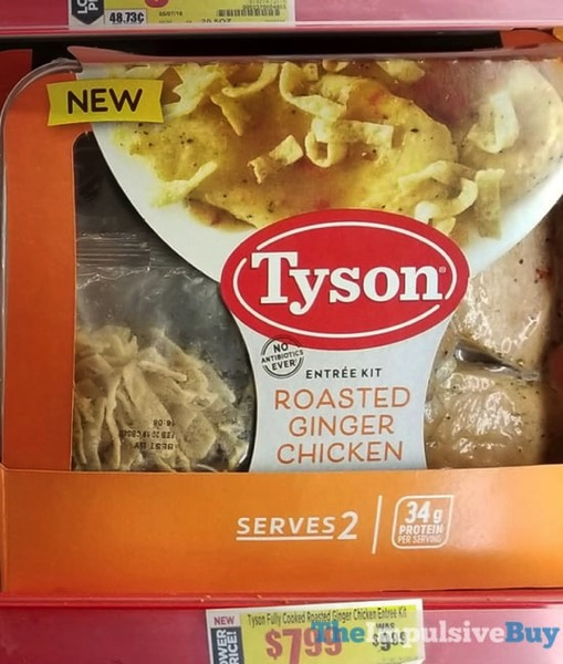 Tyson Roasted Ginger Chicken Entree Kit