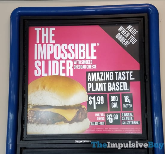 White Castle Impossible Slider