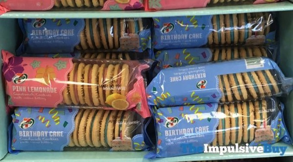 7 Select Birthday Cake Sandwich Cookies