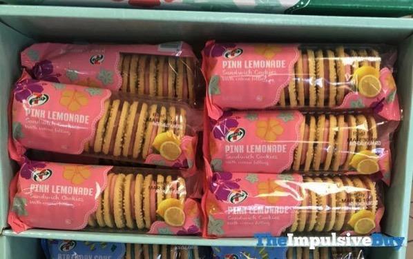 7 Select Pink Lemonade Sandwich Cookies