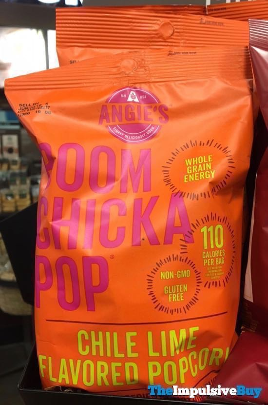Angie s Boom Chicka Pop Chile Lime Flavored Popcorn