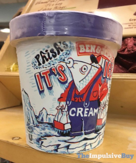 Ben  Jerry s Special Stash Phish s It s Ice Cream