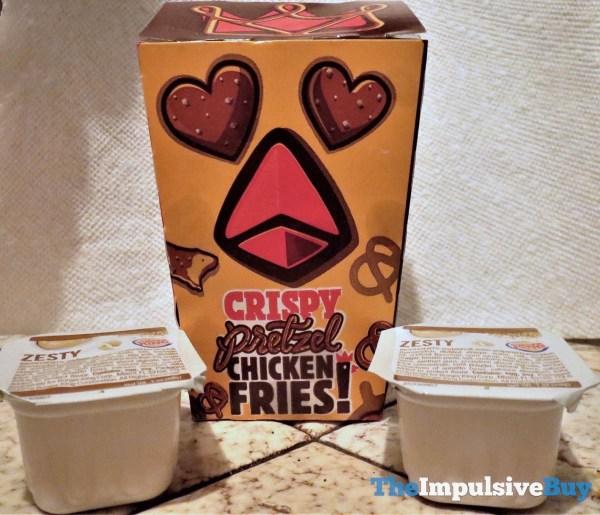 Burger King Crispy Pretzel Chicken Fries 1