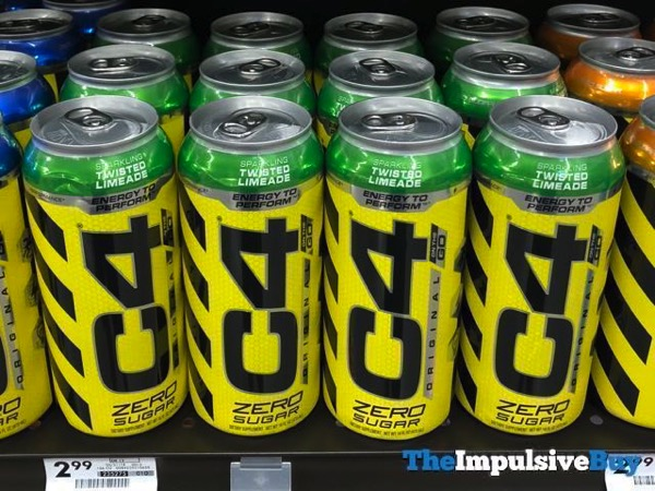 C4 Energy Twisted Limeade
