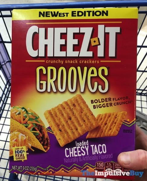 Cheez It Grooves Loaded Cheesy Taco Crackers