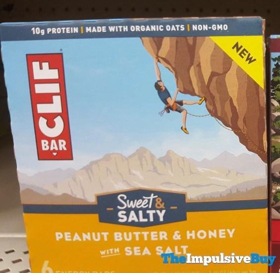 Clif Bar Sweet  Salty Peanut Butter  Honey with Sea Salt