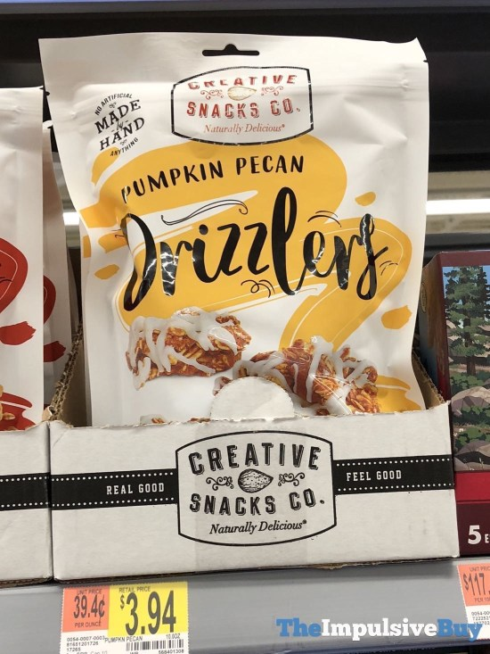 Creative Snacks Co Drizzlers Pumpkin Pecan