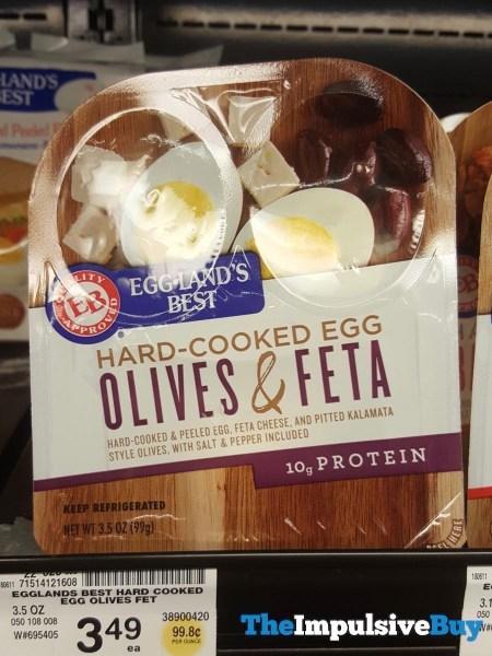 Egg Land s Best Hard Cooked Egg Olives  Feta