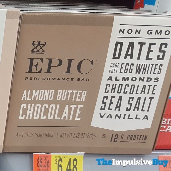 Epic Almond Butter Chocolate Performance Bar
