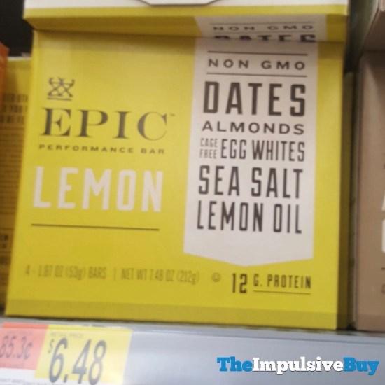 Epic Lemon Performance Bar