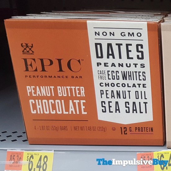 Epic Peanut Butter Chocolate Performance Bar