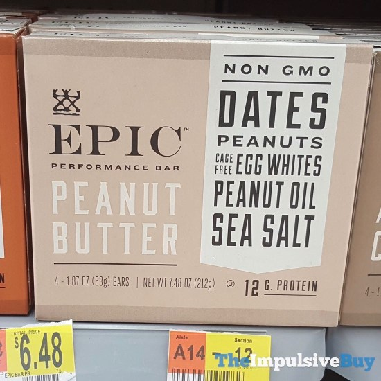 Epic Peanut Butter Performance Bar