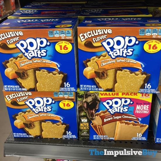 Exclusive Flavor Frosted Chocolatey Salted Caramel Pop Tarts