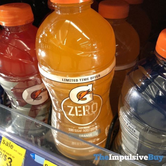 Gatorade Zero Orange