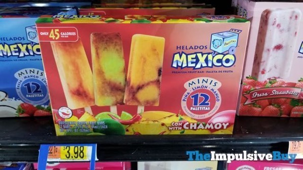 Helados Mexico Minis with Pina Limon and Mango