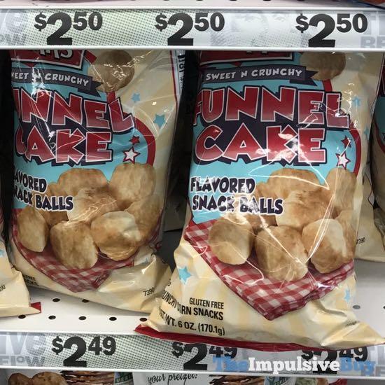 Herr s Sweet N Crunchy Funnel Cake Snack Balls