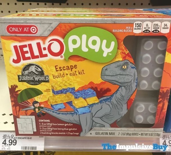 Jello Play Jurassic World Escape Build + Eat Kit