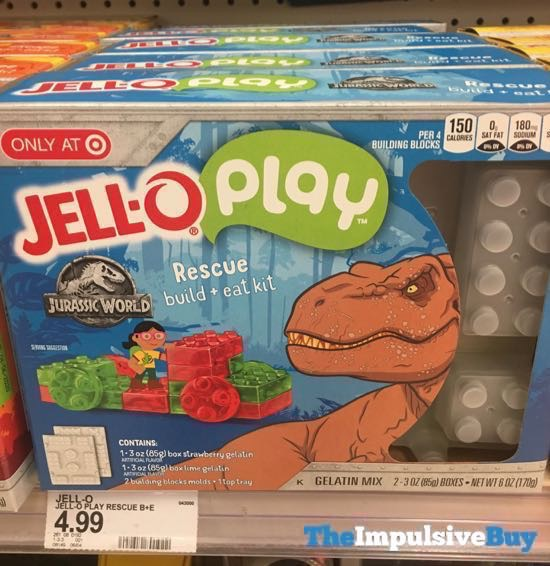 Jello Play Jurassic World Rescue Build + Eat Kit
