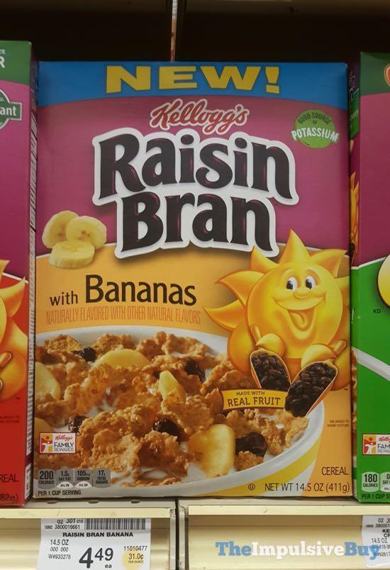 Kellogg s Raisin Bran with Bananas Cereal
