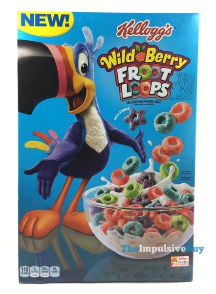Kellogg s Wild Berry Froot Loops Cereal