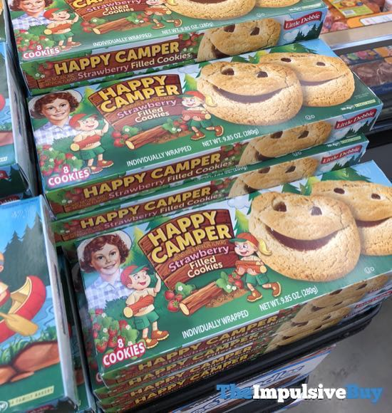 Little Debbie Happy Camper Strawberry Filled Cookies