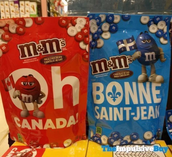 M M s Milk Chocolate Oh Canada and Bonne Saint Jean