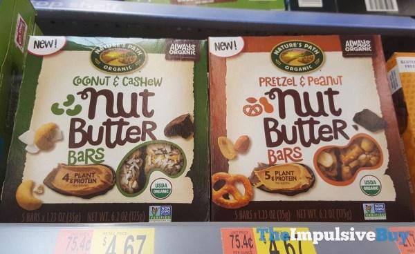 Nature s Path Coconut  Cashew and Pretzel  Peanut Nut Butter Bars