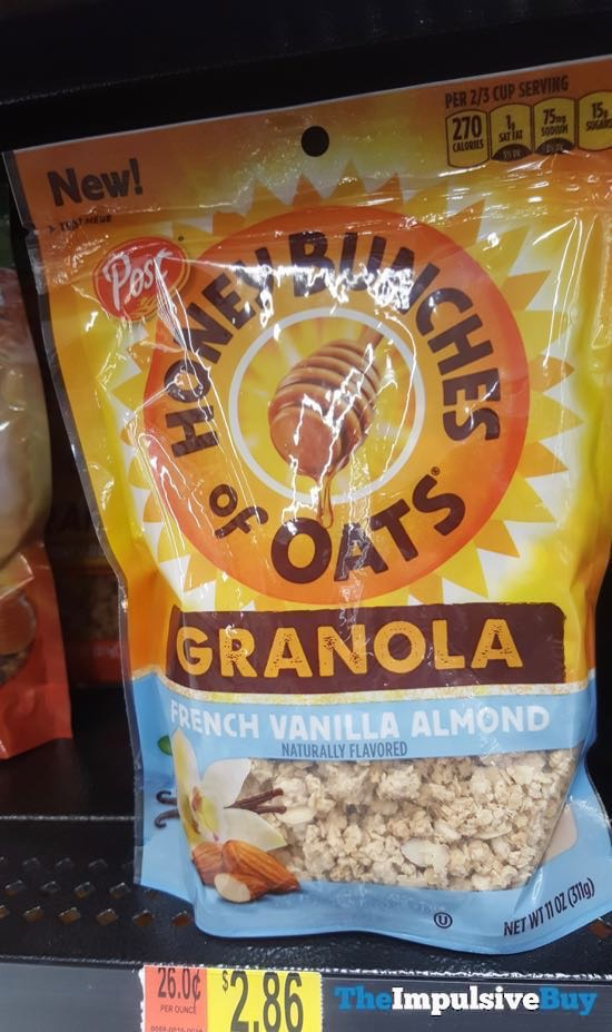 Post Honey Bunches of Oats Granola French Vanilla Almond