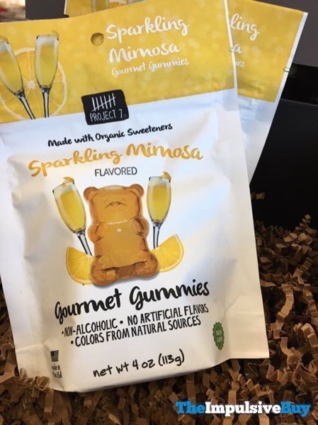 Project 7 Sparkling Mimosa Gourmet Gummies
