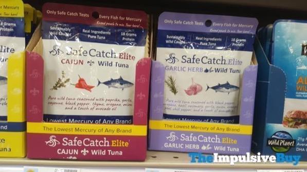 Safe Catch Elite Cajun and Garlic Herb Wild Tuna Pouches