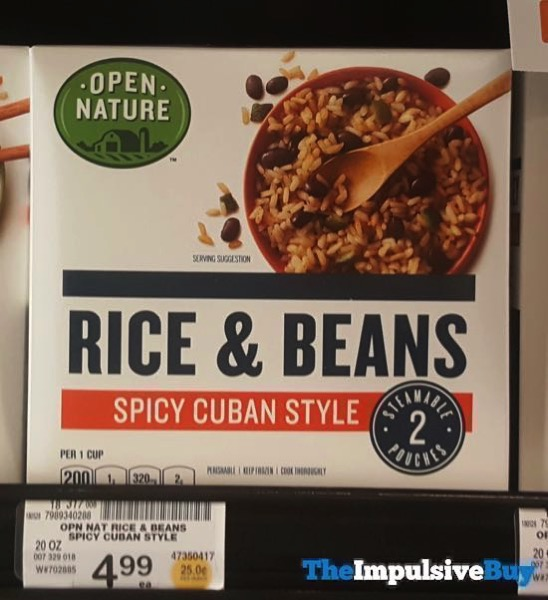 Safeway Open Nature Spicy Cuban Style Rice  Beans