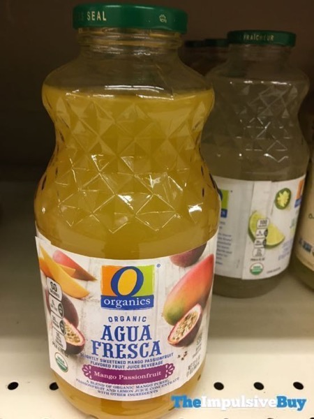 Safeway Organics Agua Fresca Mango Passionfruit