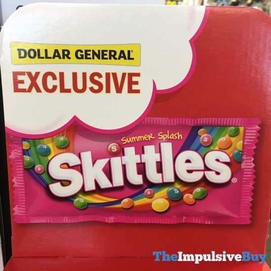 Skittles Limited Edition Summer Splash 2