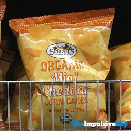 Sprouts Organic Mini Cheddar Corn Cakes